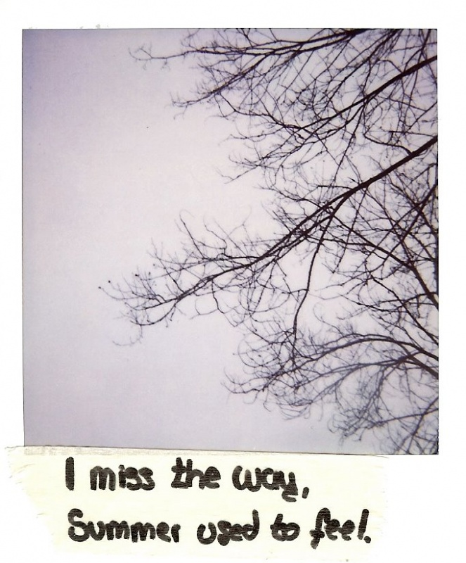 I miss the way... I