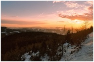 Sunset Over The Black Forest